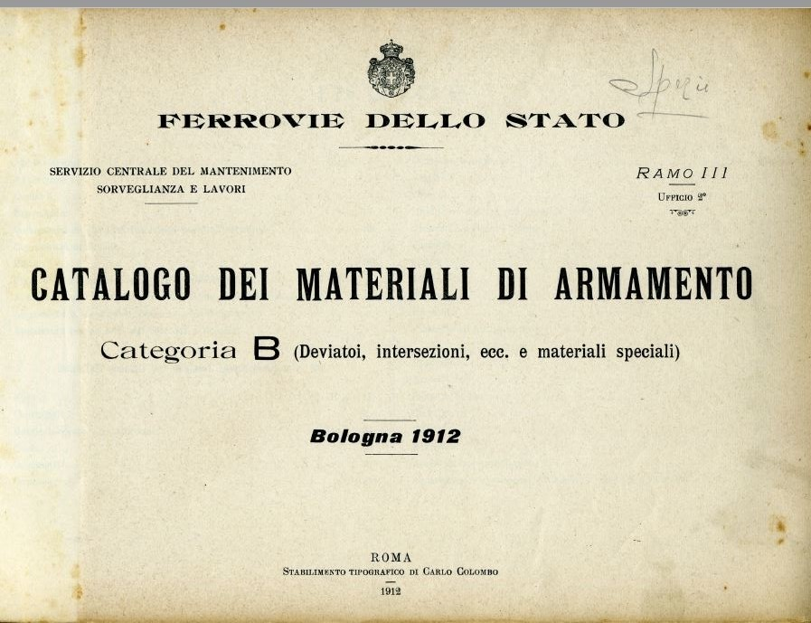 Copertina di Catalogo dei Materiali di Armamento - Categoria B